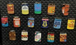 Pin Disney Parks Trading Pins Delicious Drinks Chsracter Soda Pop Cans Set Of 16