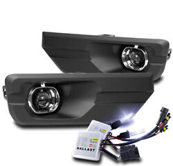 For 2013-2016 Gmc Acadia Front Bumper Projector Fog Lights Lamp W/10k Hid +cover