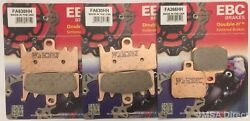 Ducati Panigale 899 2014 To 2015 Ebc Sintered Front And Rear Disc Brake Pads