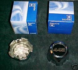 Set Of 4 Nos Gm Olds 1985-1987 442 Center Caps For Ssiii Wheels Gm 22528777