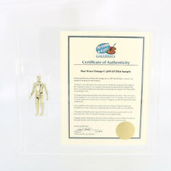 Vintage Star Wars - C-3PO Engineering Pilot  Sample  First Shot with COA