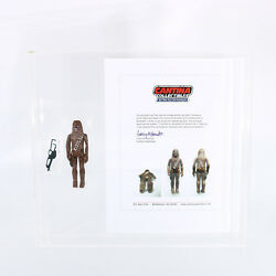 Vintage Star Wars - Chewbacca Engineering Pilot  Sample  First Shot with COA