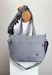 Light Gray Shoulder Messenger Purse Sling Hobo Bag Gift For Her Teen Girl Bags