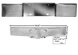 Chevy, Chevrolet Impala Front And Rear License Panel Set 1962