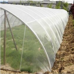 Farm Plants Pest Control 10m Nylon Net Cover Protect Greenhouse Anti Insect Bugs