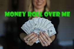 Money Roll Over Me Blood Ore Ring Altar Ring Ritual Spell Kit Success Cash Win