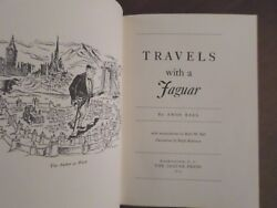 Travels With A Jaguar Amos Ball Original 1954 Limited Edition Book Signed Mk Vii