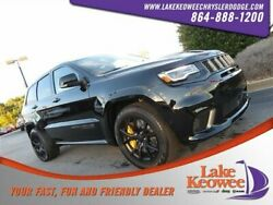 2019 Jeep Grand Cherokee Trackhawk 2019 Jeep Grand Cherokee Trackhawk 1 Diamond Black Crystal Pearlcoat Sport Utili