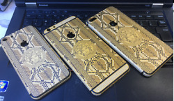 24K Gold Limited Edition Plated iPhone Housing - Versace Design