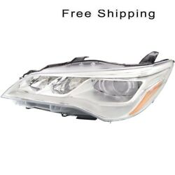 LED Head Lamp Assembly Driver Side Fits Toyota Camry XLE Models TO2502223