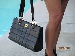 Gorgeous! CHANEL Caviar Leather-  Black Double Strap Large Bag Gold Hardware