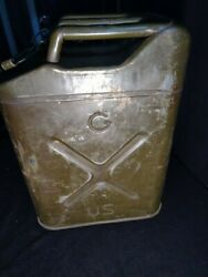 Vintage U.S. Military Gas Can