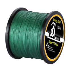 Super Strong PE Braided Fishing Line Abrasion Resistant 4 8 Strands12 100LB $14.98