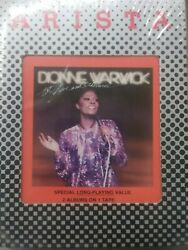 Dionne Warwick Hot Live And Otherwise 8 Track Sealed