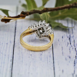 14k Two Tone Gold Fashion Ring Features Approximately 1.00ct Of Diamonds