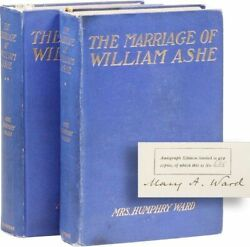 Mrs. Humphry Ward [Mary Augusta]. Marriage of William Ashe. 2 vols. ltd. & sgd