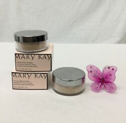 Mary Kay Lot Of 2 Ivory 1 Mineral Power Foundation .28 OZ NIB A76DS