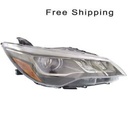 LED Head Lamp Assembly Passenger Side Fits Toyota Camry XSE Models TO2503229