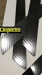 Side Moulding Trim In GLOSSY Black Carbon Fiber For Luxury Japanese Vehicles.