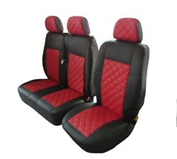 Mercedes Sprinter Dodge Sprinter 2006- 2018 Front Seat Covers Eco Leather 2+1