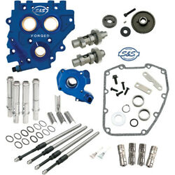 S&S Gear-Drive 585 Easy Cam Chest Upgrade Kit Cams for 2007-2017 Harley Twin Cam