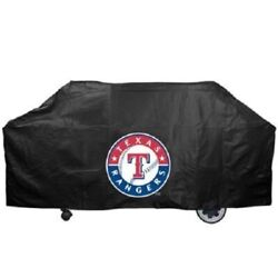 Texas Tx Rangers Mlb Deluxe Heavy Duty Bbq Barbeque Grill Cover 68x21x35