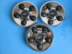 00 01 02 Olds Intrigue 16 Wheel Center Caps Hubcaps 5 Lug Used Qty Of 3 Oem