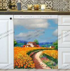Kitchen Dishwasher Magnet - Old Tuscan Country Cottage