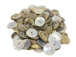 Akoya Mother Of Pearl Shell Buttons 30l 0.75 Inch 19mm 384-30l C10