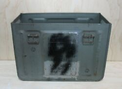 Vintage Us Navy 20mm Mk3 Ammunition Ammo Box Collectible Military Surplus No Lid