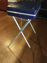 PRIVACY BOOTH Voting Machine Election Booth Portable Mobile Stand Case LAMP LEGS