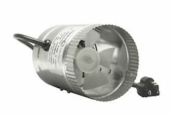 Hydroplanet 4 Inch Duct Booster Fanexhaust Fan High Cfm 4 65-100 CFM 4 In...