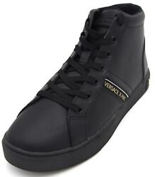 Versace Jeans Woman Sneaker Shoes Casual Free Time Leather Rubber Code E0vsbsf1