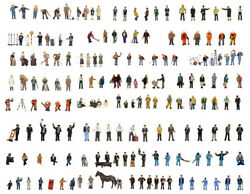 Bachmann Sets Of Hand Painted Figures In Oo Gauge 32 Sets - 36xxx