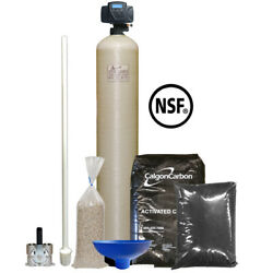 Centaur Carbon Filter System With 9x48 Tank And Fleck 5600sxt Aio Oxygen Chamber
