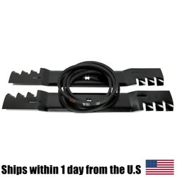 Mulching Blade And Deck Belt Kit For 954-04045 942-04126 42 Cub Cadet