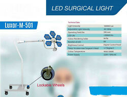 Mobile Ot For Super Specialty Surgery Led Light Lockable Wheels No Of Led 60