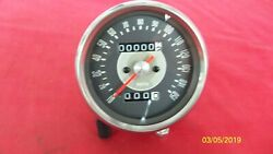 Triumph Motorcycle New Reproduction Smith Grey Faced 150 Mph Speedometer