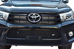 Toyota Hilux An120 / An130 - Front Grill Set - Black Finish 2015 -