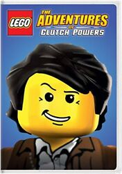 LEGO: The Adventures of Clutch Powers DVD 2015 NEW WITH TINY TEAR IN WRAP $5.40