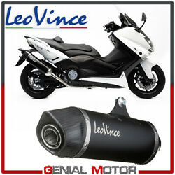 Complete Exhaust System Leovince Nero Steel Yamaha T Max 530 2012 2016