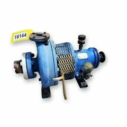 Used Goulds 3196 Centrifugal Pump 1.50x3x10