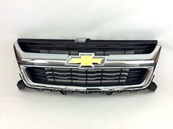 15-19 Chevrolet Colorado Front Upper Radiator Grille With Bow Tie Emblem New Oem