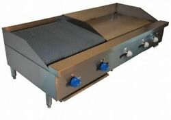 Comstock-castle Fhp60-36-2rb 60 Countertop Gas Griddle / Charbroiler