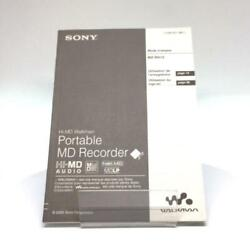 Sony Operating Instructions For Mz-rh10 - French 2-588-601-22