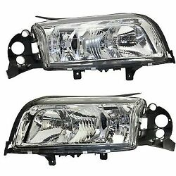 Headlight For 99-2003 Volvo S80 Driver and Passenger Side w bulb