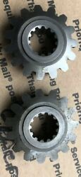 Mitsubishi Satoh Beaver Buck S373 S470 M372 4x4 Lower Spindle Gear 1 Of 2 15t