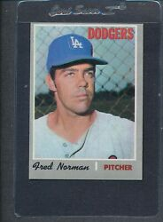 1970 Topps 427 Fred Norman Dodgers Ex 8939