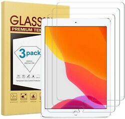 3 Pack Tempered Glass Screen Protector For iPad 9.7 2 Mini 4 Pro Air 4th 6th $8.75