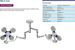 Led-surgical-ot-lights-ceiling-twin-type-tmi-c-4 +3